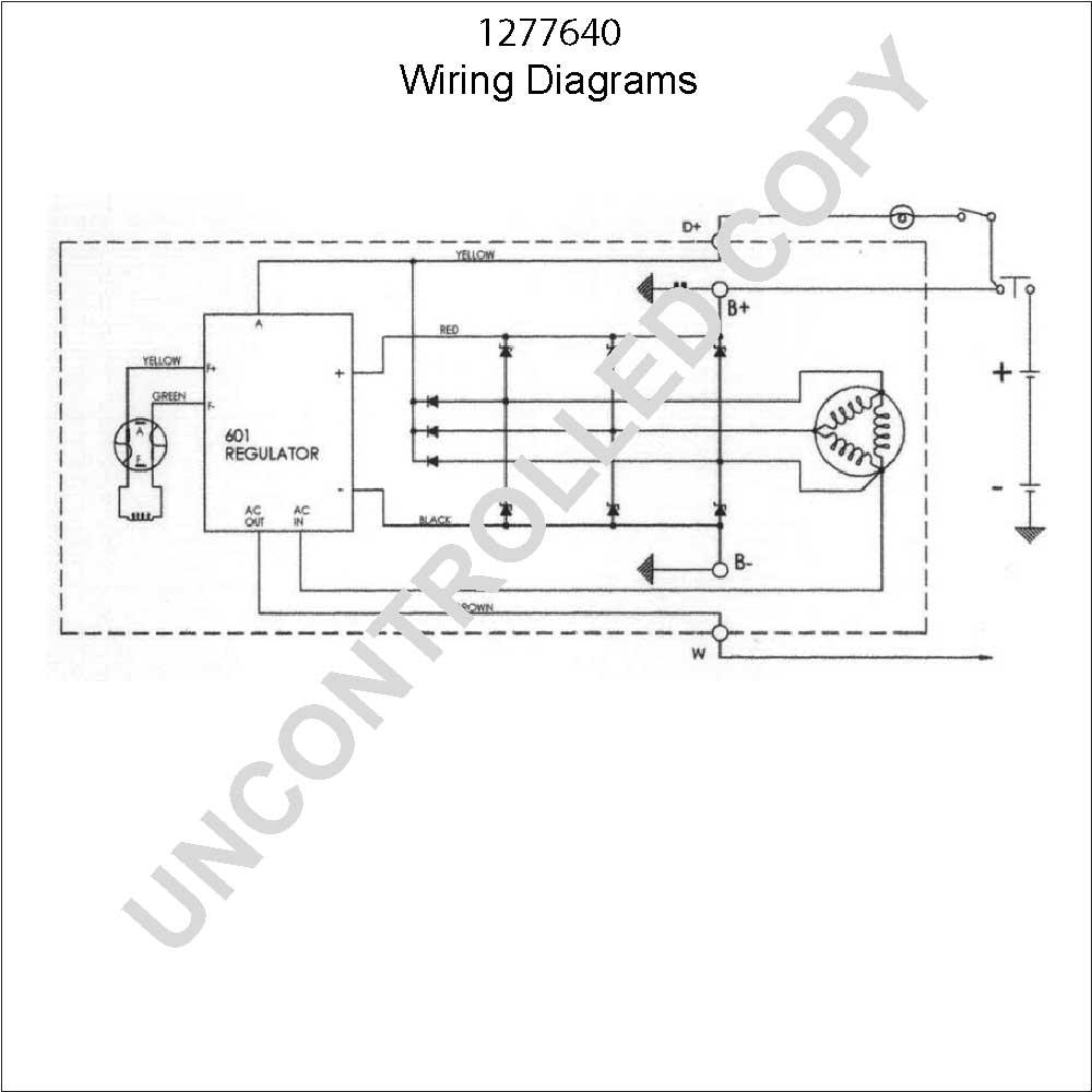 Externally Regulated Alternator Wiring Diagram Free Download Poulan Pp11536ka Duvac Leece Neville Elsavadorla External