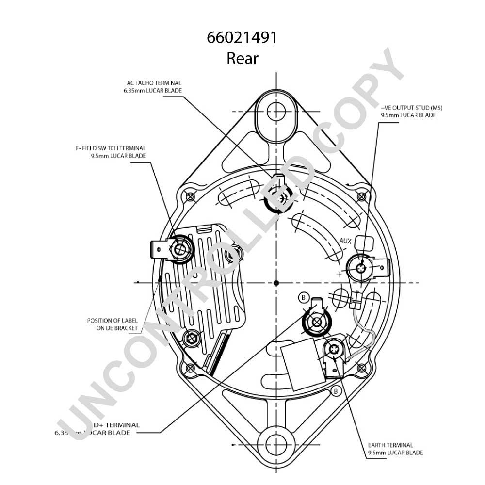 alternator  pl  oe  prestolite 66021491  24v  55a