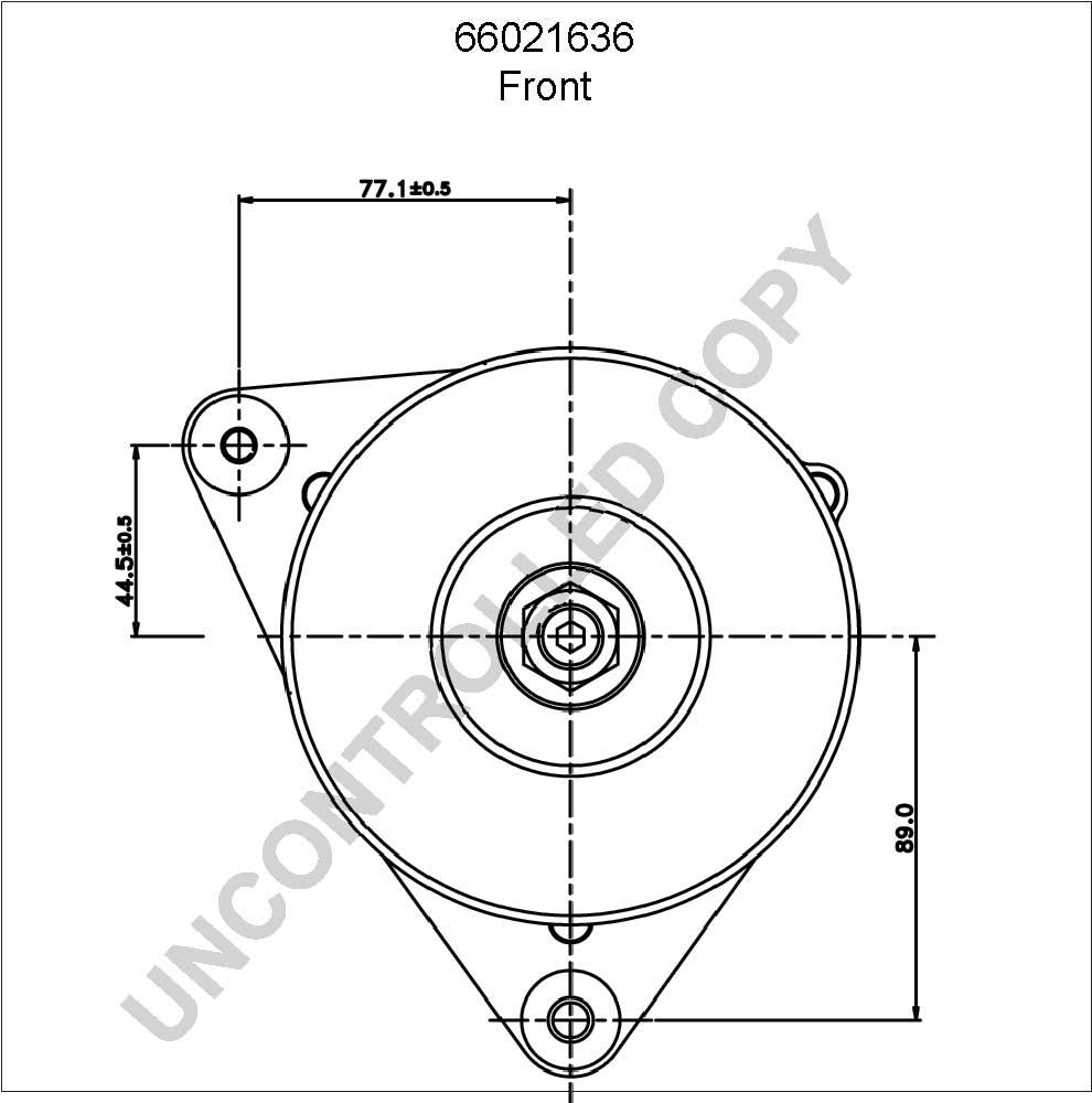alternator  pl  oe  prestolite 66021636  12v  65a  cg110968