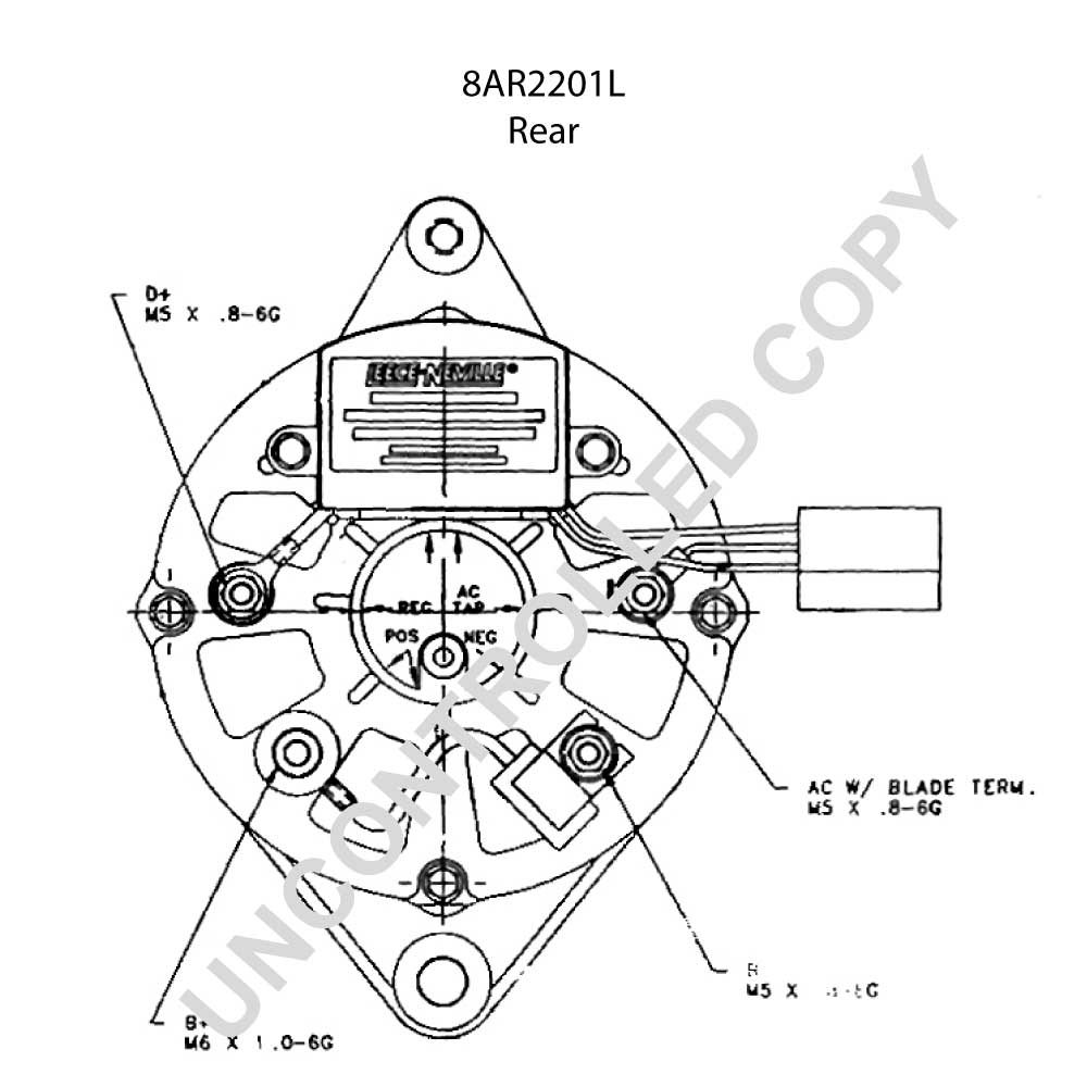 Leece Neville Wiring Diagram 175 Amp Trusted Diagrams Alternator Free Download 8ar2201l Prestolite 12v 65 Massey Ferguson