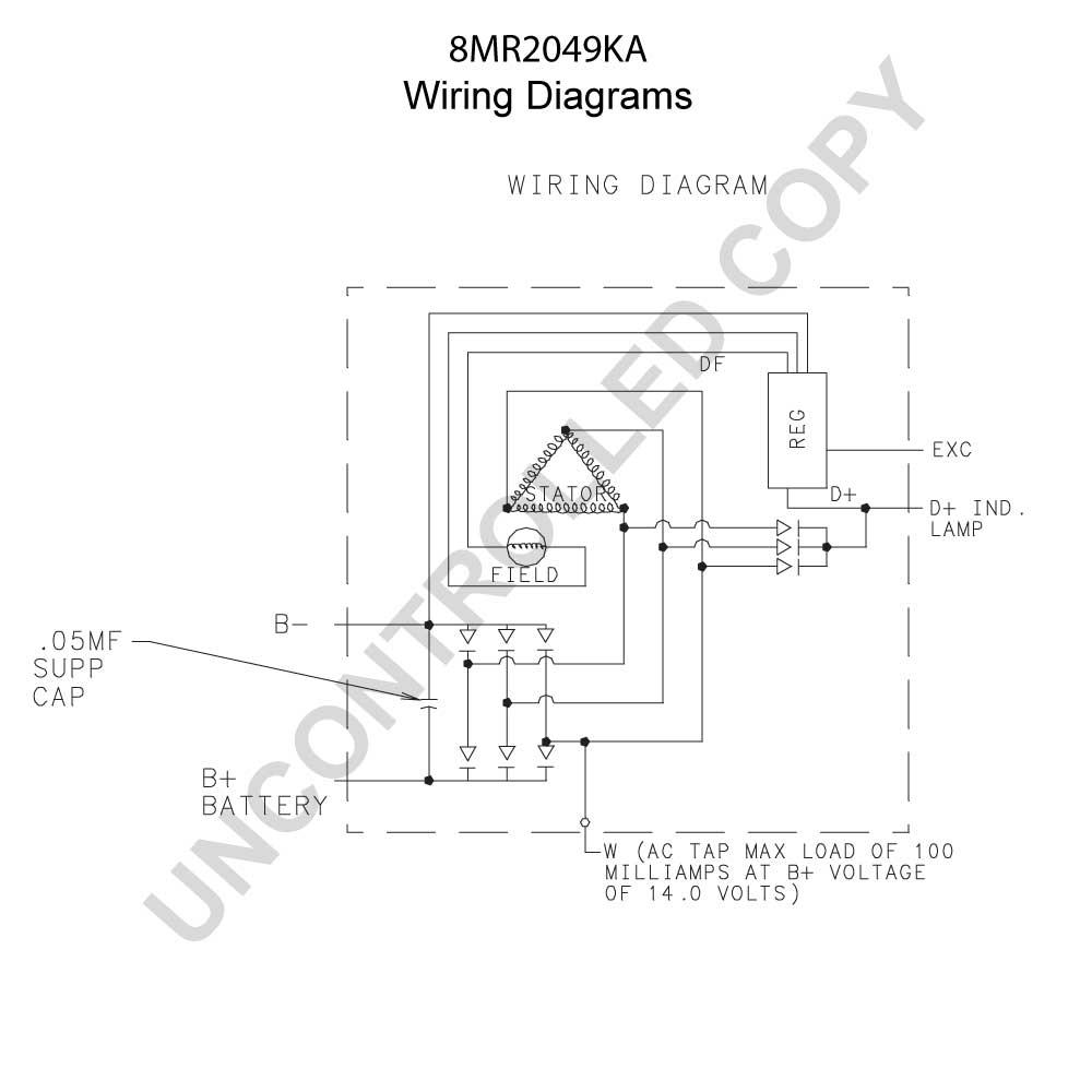 Prestolite Aircraft Alternator Wiring Diagram : Wiring prestolite diagram alternator y voltage