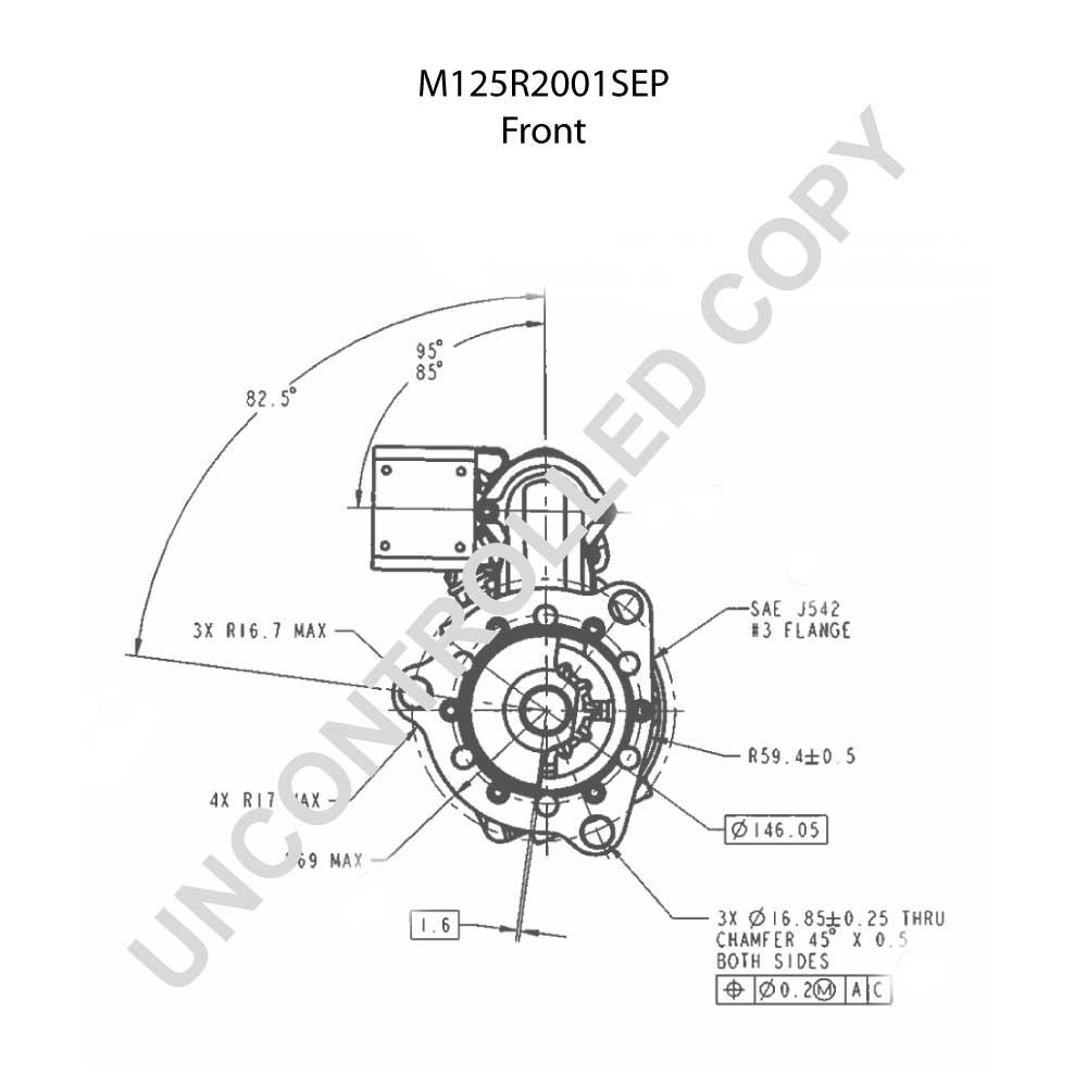 M125r2001sep Prestolite Leece Neville Rozrusznik M125 12v Wiring Diagram For 10461045 12 Volt Starter M125601
